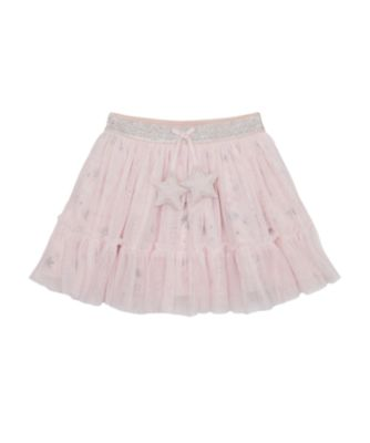 Mothercare Save Our Seas Pink Star Mesh Skirt