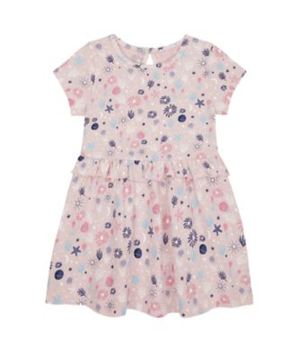 Mothercare Save Our Seas Allover Print Epp Jersey Dress
