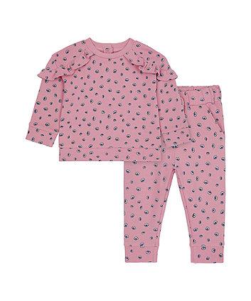 Mothercare Pink Shell Jog Set