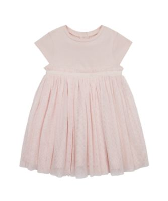 Mothercare Save Our Seas Pink Sparkly Tulle Dress