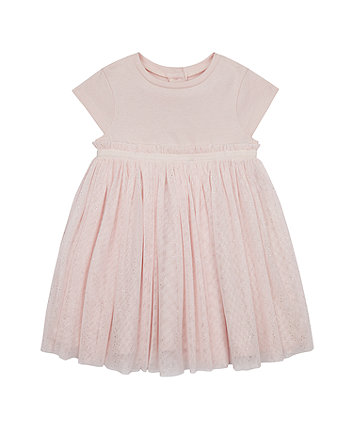 Mothercare Pink Sparkle Tulle Dress