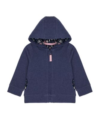 Mothercare Save Our Seas Blue Zip Hoodie