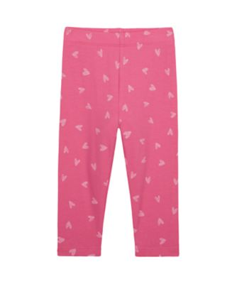 Mothercare Wardrobe Essentials Pink Allover Prin Legging