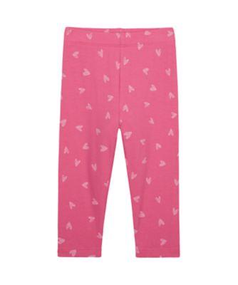 Mothercare Wardrobe Essentials Pink Allover Prin Legging
