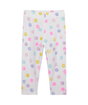 Mothercare Wardrobe Essentials Multi Spot Legging