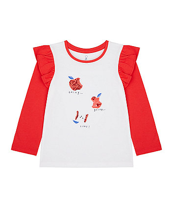 Mothercare Going, Going, Gone! Sequin T-Shirt