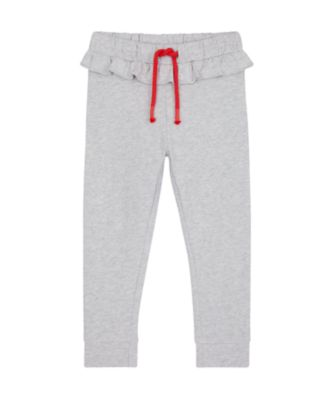 Mothercare Apple Of My Eye Grey Frill Brushedback Jogger