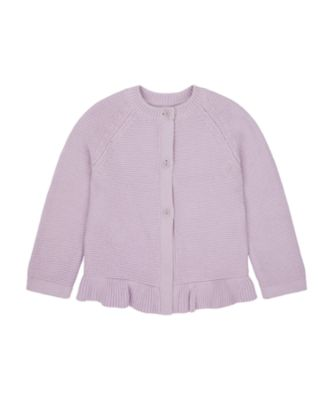 Mothercare Flower Power Lilac Cardigan