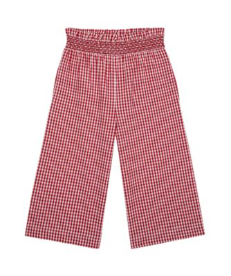 Mothercare Apple Of My Eye Red Gingham Wide Leg Trousers