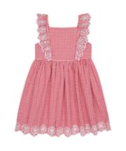 Mothercare Red Gingham Pinny Dress