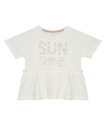 Sunshine Peplum T-Shirt [SS21]
