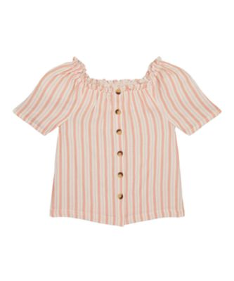 Mothercare Sienna Skies Stripe Button Blouse