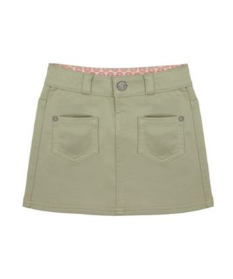 Mothercare Sienna Skies Khaki Two Pocket Skirt