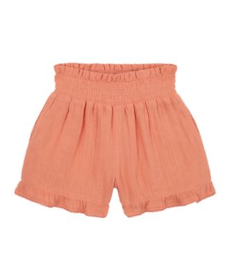 Mothercare Sienna Skies Coral Woven Short