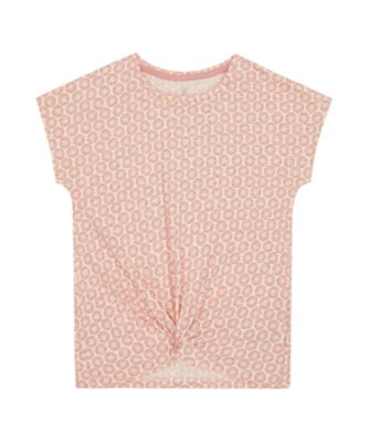 Mothercare Sienna Skies Floral Knot Short Sleeve T-Shirt