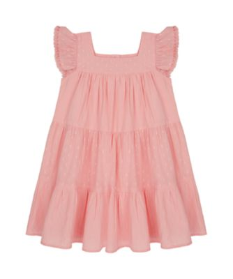 Mothercare Sienna Skies Tiered Stripe Dress With Tassel Arms