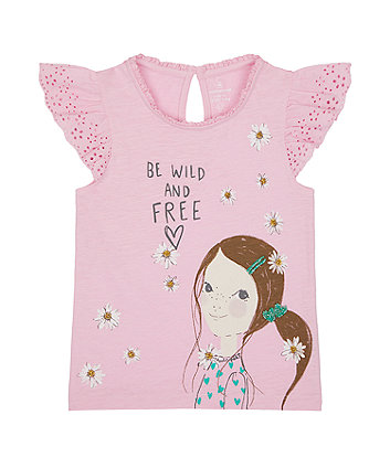 Mothercare Wild And Free T-Shirt