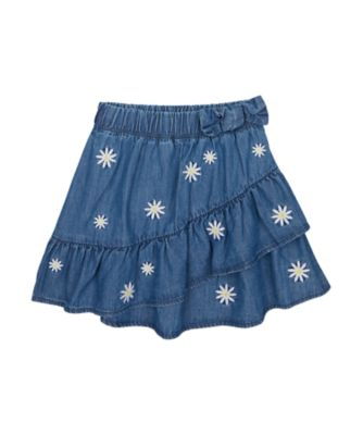 Mothercare Flower Power Lilac Frill Skirt With Bow