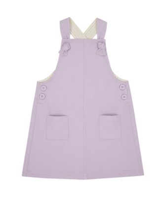 Mothercare Flower Power Lilac Pinny Set