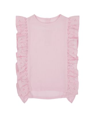 Mothercare Flower Power Pink Broderie Blouse