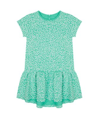 Mothercare Urban Cowgirl Green Floral Jersy Epp Dress