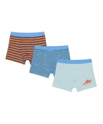 Mothercare Boys Dinosaur Trunks - 3 Pack
