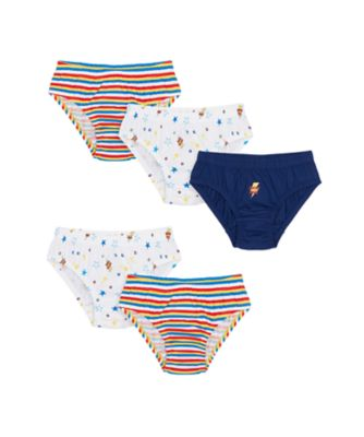 Mothercare Boys Super Hero Briefs - 5 Pack