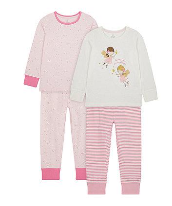 Mothercare Fairy Pyjamas - 2 Pack