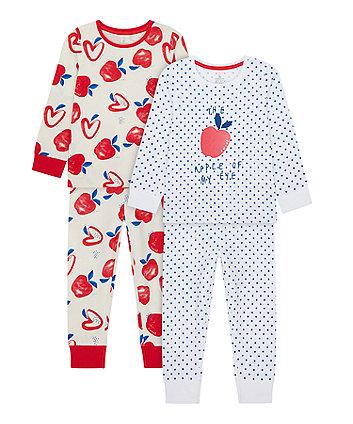 Apple Of My Eye Pyjamas - 2 Pack [SS21]