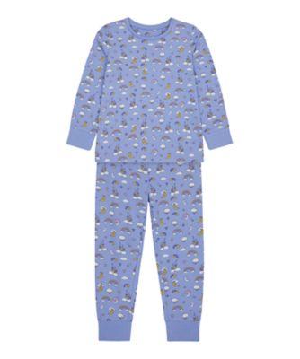 Mothercare Girls Rainbow And Castles EPP Pyjamas
