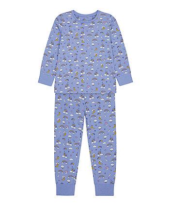 Mothercare Rainbow And Castles Pyjamas
