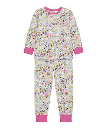 Mothercare Floral Pyjamas