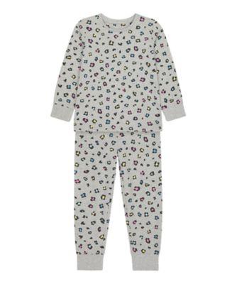 Mothercare Girls Animal Allover Print EPP Pyjamas