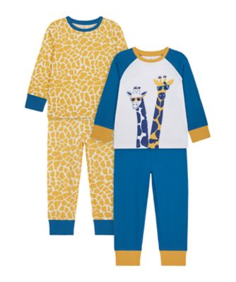Mothercare Boys Its Been A Long Day Pyjamas - 2 Pack