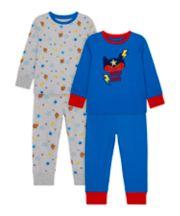 Mothercare Superhero Pyjamas - 2 Pack