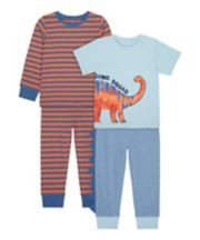 Dino Squad Long And Short-Sleeved Pyjamas - 2 Pack [SS21]