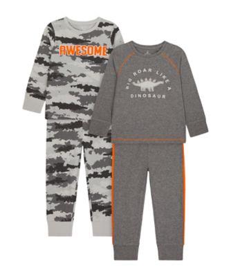 Mothercare Boys Big Roar Like A Dinosaur Pyjamas - 2 Pack