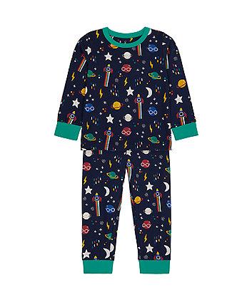 Mothercare Space Pyjamas