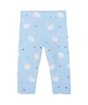 Mothercare Swan Lake Blue Swan Legging