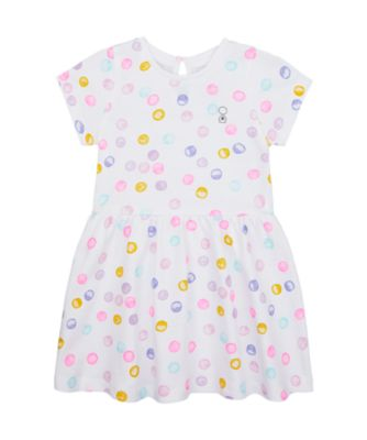 Mothercare Wardrobe Essentials Multi Spot Short Sleeve Dress