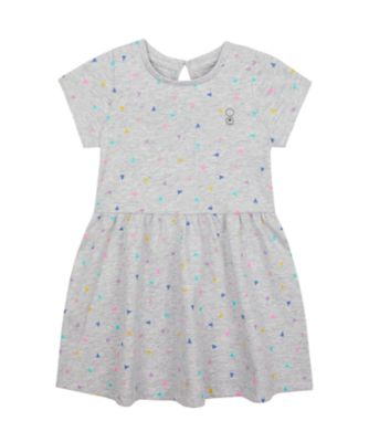 Mothercare Wardrobe Essentials Grey Triangle Short Sleeve Dress