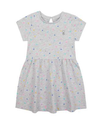 Mothercare Wardrobe Essentials Grey Triangle Short Sleeve Dress