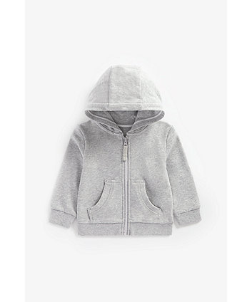 Grey Zip-Through Hoody [SS21]