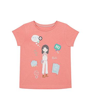 Mothercare Hey Girl T-Shirt