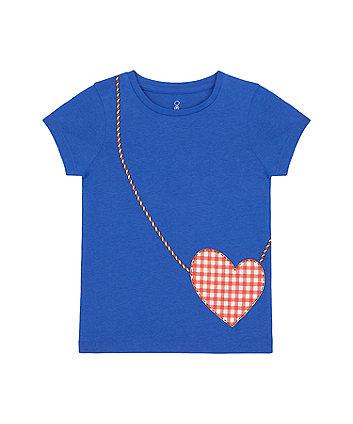 Mothercare Heart Bag T-Shirt