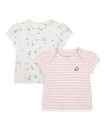 Mothercare Little Garden T-Shirts - 2 Pack