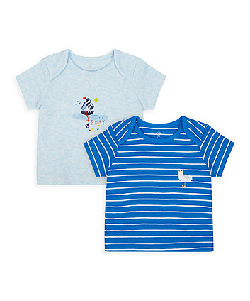 Mothercare Seaside T-Shirts - 2 Pack