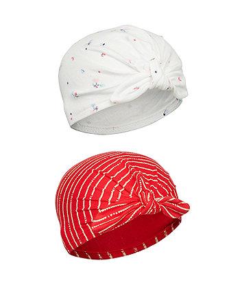 Mothercare Little Garden Hats - 2 Pack