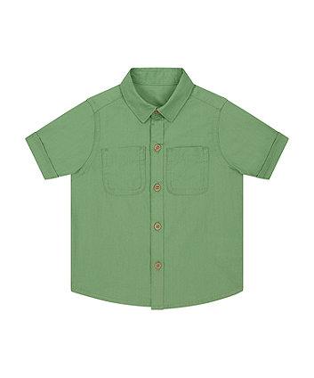 Mothercare Khaki Shirt