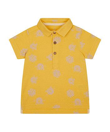 Mothercare Mustard Polo Shirt